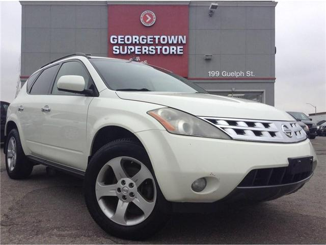 2004 Nissan Murano SL | NAVI | LEATHER | AWD |  YOU CERTIFY YOU SAVE (Stk: FO18072B) in Georgetown - Image 2 of 23