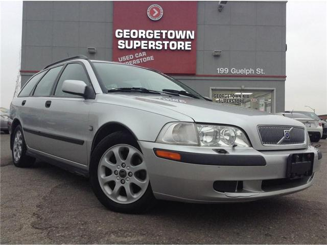 2001 Volvo V40 A | YOU CERTIFY YOU SAVE | SPECIAL (Stk: P10657B) in Georgetown - Image 2 of 21
