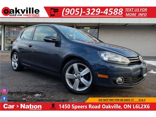2012 Volkswagen Golf 2.5L | HTD SEATS | SUNROOF | AS IS (Stk: P11687) in Oakville - Image 1 of 20