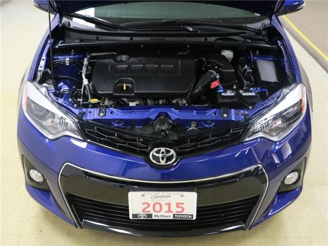 2015 Toyota Corolla S (Stk: 186526) in Kitchener - Image 25 of 28