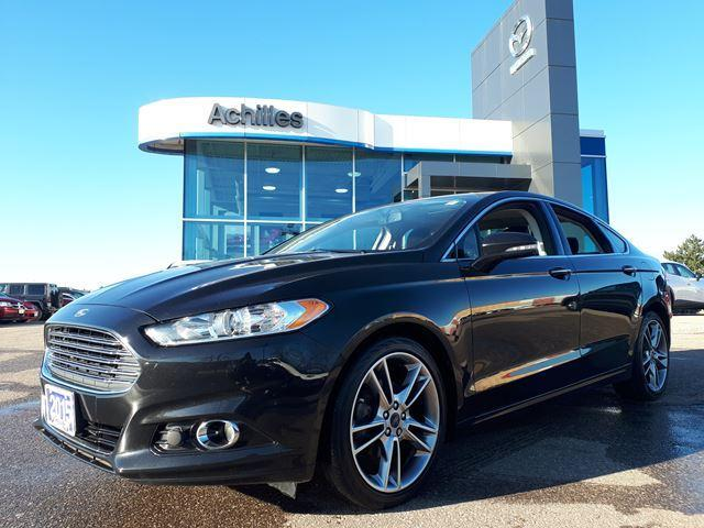 2015 Ford Fusion Titanium (Stk: A9438A) in Milton - Image 1 of 14