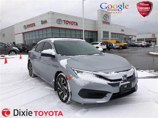 2016 Honda Civic EX (Stk: D190108A) in Mississauga - Image 1 of 17