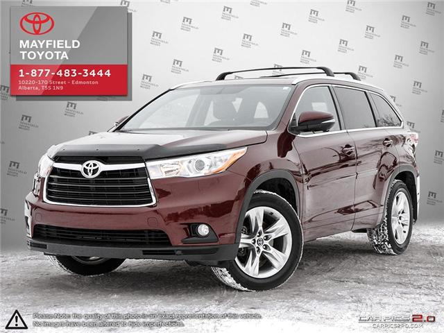 2016 Toyota Highlander Limited (Stk: 1802337B) in Edmonton - Image 1 of 20