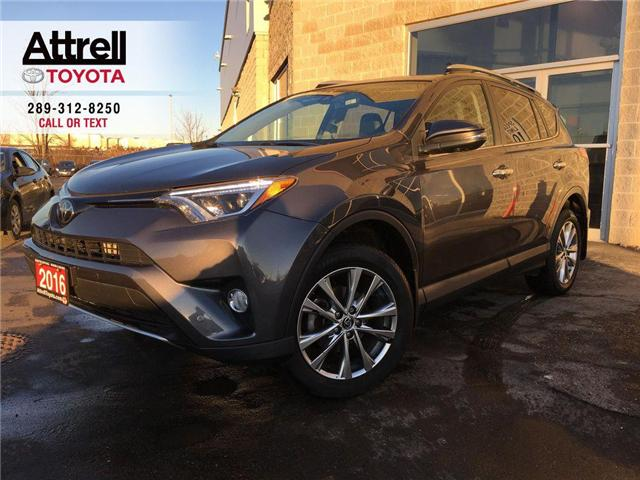 2016 Toyota RAV4 LIMITED AWD PARKING SONARS, NAVIGATION, LEATHER, S (Stk: 43169A) in Brampton - Image 1 of 28