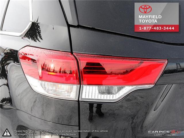 2018 Toyota Highlander XLE (Stk: 190248A) in Edmonton - Image 11 of 20