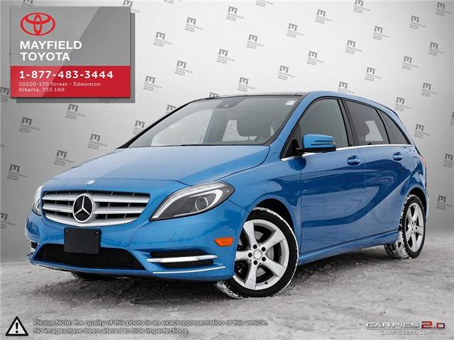 2014 Mercedes-Benz B-Class Sports Tourer (Stk: 190131A) in Edmonton - Image 1 of 20