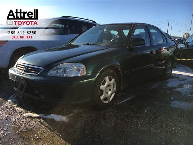 2000 Honda Civic EX-G POWER GROUP, CRUISE, ABS, AUTOMATIC (Stk: 42816A) in Brampton - Image 1 of 8