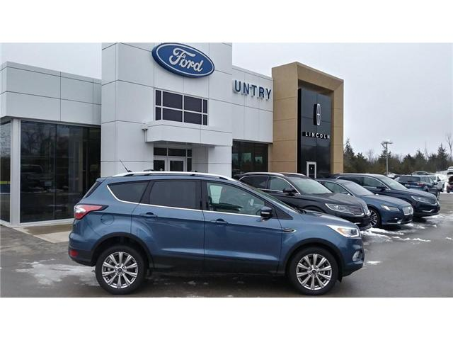 2018 Ford Escape Titanium (Stk: P0315) in Bobcaygeon - Image 1 of 25