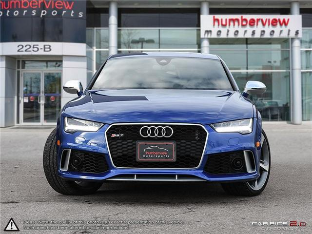2018 Audi RS 7 4.0T (Stk: 18MSX787) in Mississauga - Image 2 of 27