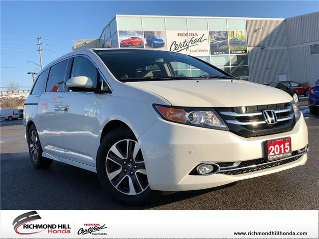 2015 Honda Odyssey Touring (Stk: 2070P) in Richmond Hill - Image 1 of 25