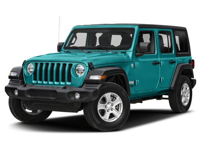 2019 Jeep Wrangler Unlimited  (Stk: 9415) in London - Image 1 of 9