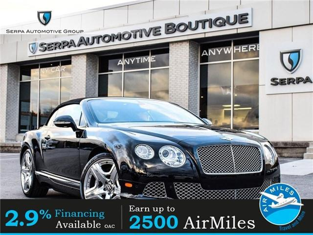 2012 Bentley Continental GTC  (Stk: C1007) in Aurora - Image 1 of 23