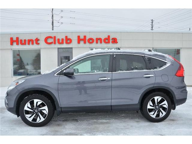 2016 Honda CR-V Touring (Stk: 6985A) in Gloucester - Image 1 of 27