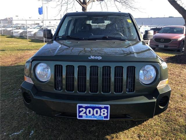 2008 Jeep Patriot Sport (Stk: 1679A) in Burlington - Image 2 of 5