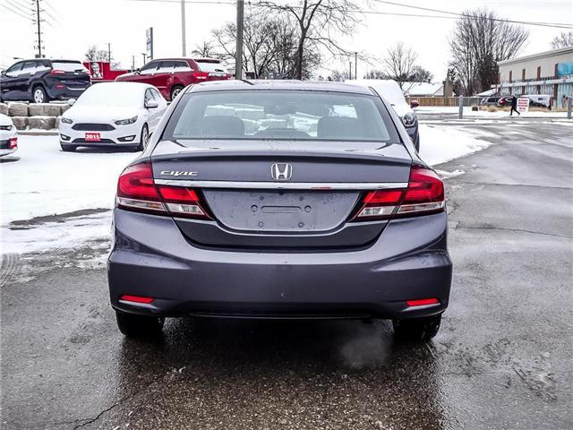 2015 Honda Civic EX (Stk: 181100A) in Milton - Image 6 of 25