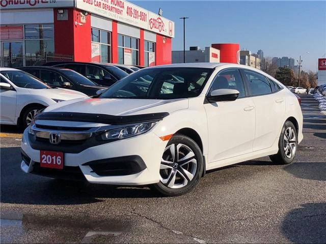 2016 Honda Civic LX (Stk: 54440A) in Scarborough - Image 1 of 20