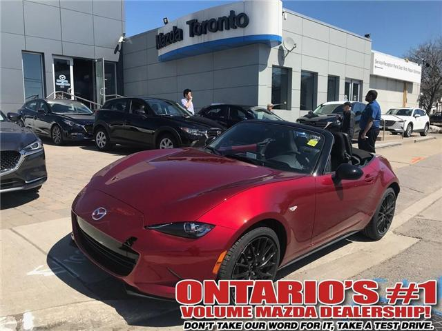 2018 Mazda MX-5 SE-50 ANNIVERSARY (Stk: DEMO79054) in Toronto - Image 1 of 8
