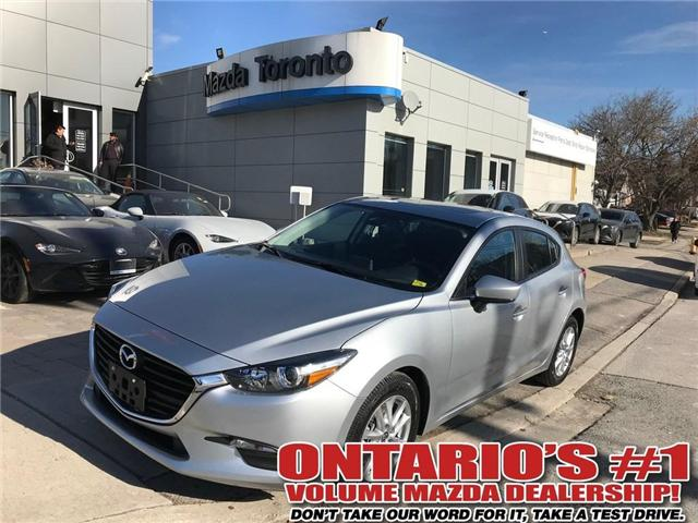 2018 Mazda Mazda3 Sport GS/MOONROOF (Stk: DEMO78154) in Toronto - Image 1 of 9