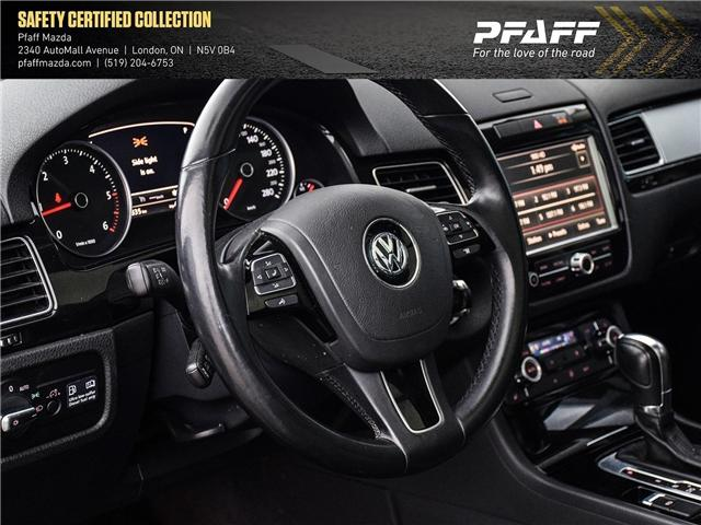 2013 Volkswagen Touareg 3.0 TDI Comfortline (Stk: MA1597) in London - Image 9 of 15
