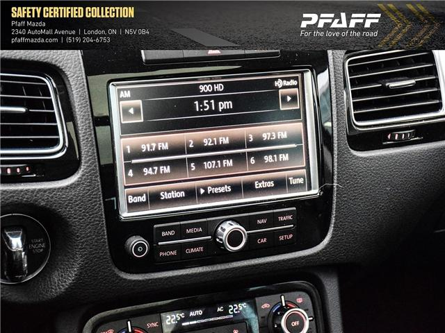 2013 Volkswagen Touareg 3.0 TDI Comfortline (Stk: MA1597) in London - Image 15 of 15