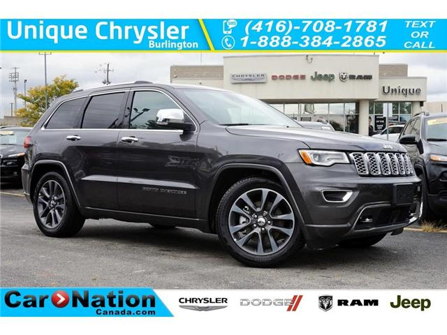 2018 Jeep Grand Cherokee OVERLAND| ECODIESEL| DVD| NAV| ACTIVE SAFETY GRP (Stk: NOU-395982-J971) in Burlington - Image 1 of 30