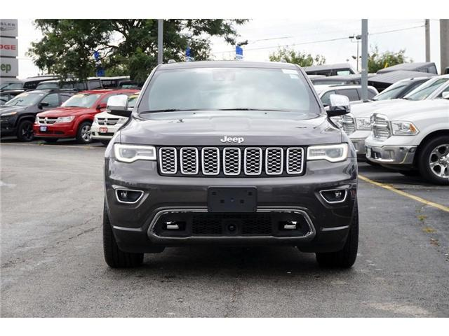2018 Jeep Grand Cherokee OVERLAND| ECODIESEL| DVD| NAV| ACTIVE SAFETY GRP (Stk: NOU-395982-J971) in Burlington - Image 2 of 30