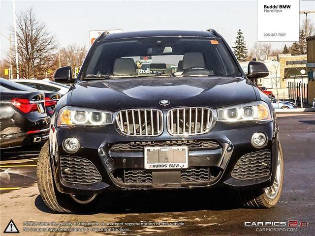 2017 BMW X3 xDrive28i (Stk: T30040A) in Hamilton - Image 2 of 24