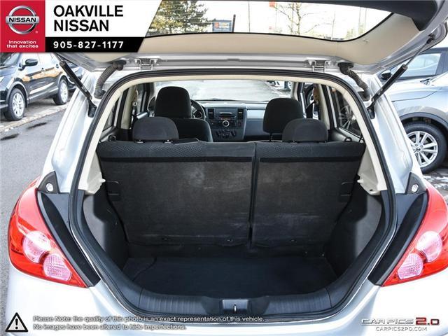 2010 Nissan Versa 1.8SL (Stk: N18769A) in Oakville - Image 10 of 20