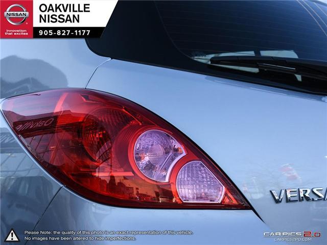 2010 Nissan Versa 1.8SL (Stk: N18769A) in Oakville - Image 11 of 20