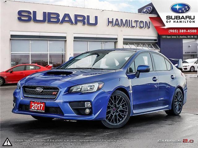 2017 Subaru WRX STI Sport (Stk: U1394) in Hamilton - Image 1 of 26