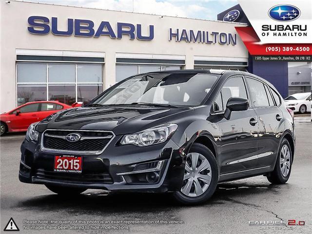 2015 Subaru Impreza 2.0i (Stk: U1391) in Hamilton - Image 1 of 26