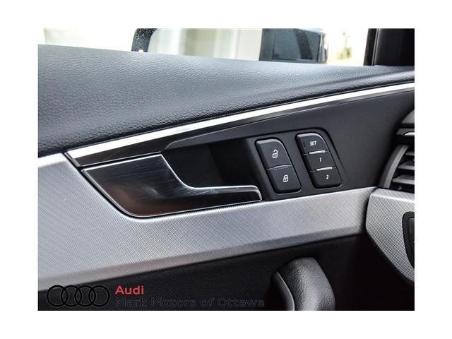 2018 Audi A4 2.0T Progressiv (Stk: 90549) in Nepean - Image 11 of 28