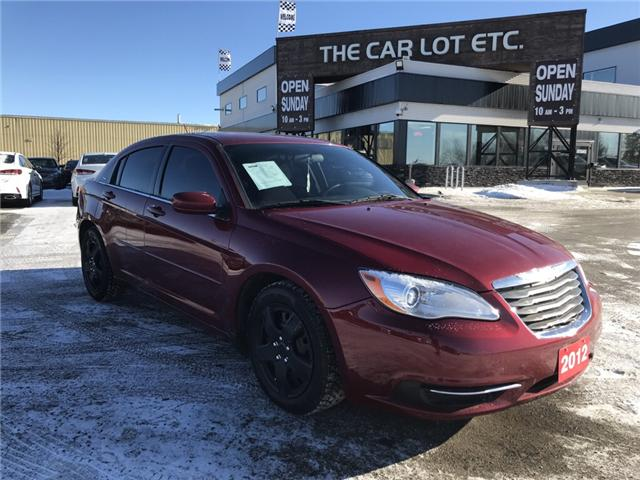 2012 Chrysler 200 LX (Stk: 17253-2-LR) in Sudbury - Image 1 of 14