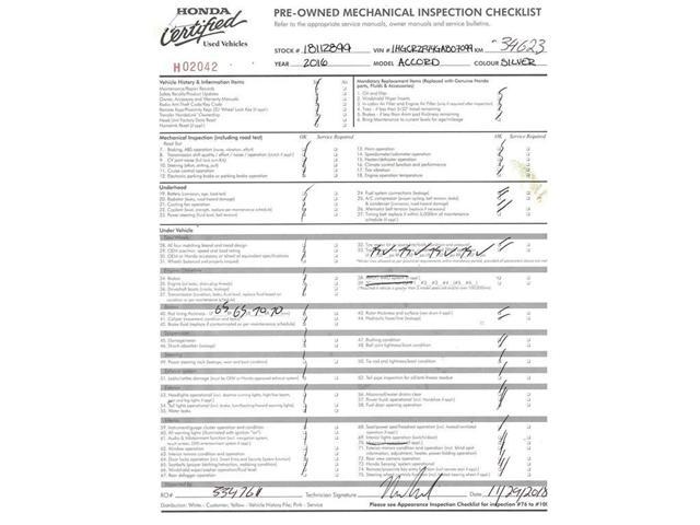2016 Honda Accord LX (Stk: 18112899) in Calgary - Image 25 of 27