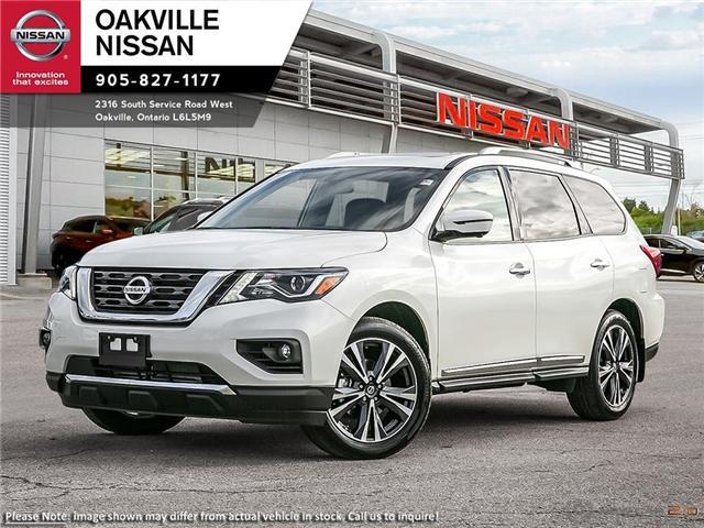 2019 Nissan Pathfinder Platinum (Stk: N19086) in Oakville - Image 1 of 23