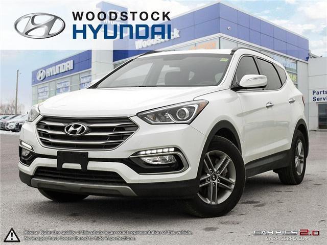 2018 Hyundai Santa Fe Sport 2.4 Premium (Stk: HD18018) in Woodstock - Image 1 of 27
