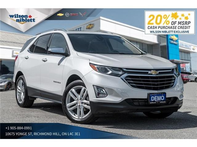 2018 Chevrolet Equinox Premier (Stk: 103595) in Richmond Hill - Image 1 of 22