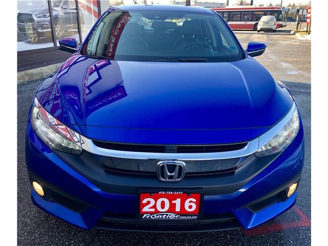 2016 Honda Civic Touring (Stk: 110506) in Toronto - Image 3 of 17