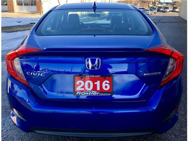 2016 Honda Civic Touring (Stk: 110506) in Toronto - Image 6 of 17
