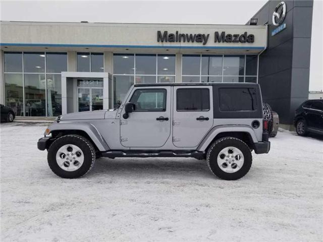 2013 Jeep Wrangler Unlimited Sahara (Stk: M18148B) in Saskatoon - Image 1 of 22