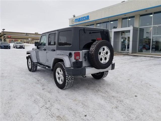 2013 Jeep Wrangler Unlimited Sahara (Stk: M18148B) in Saskatoon - Image 2 of 22