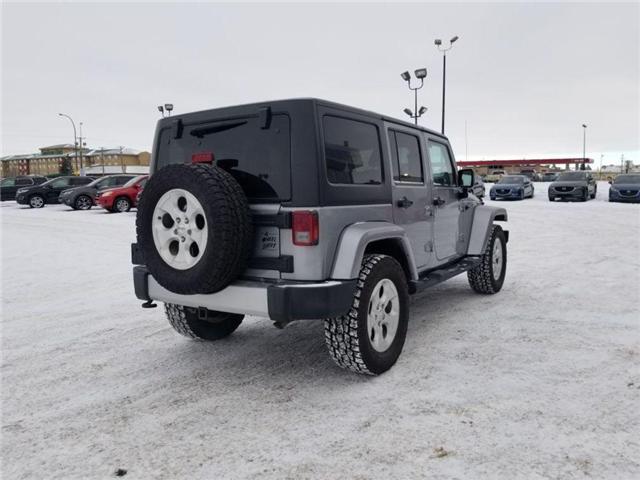2013 Jeep Wrangler Unlimited Sahara (Stk: M18148B) in Saskatoon - Image 4 of 22