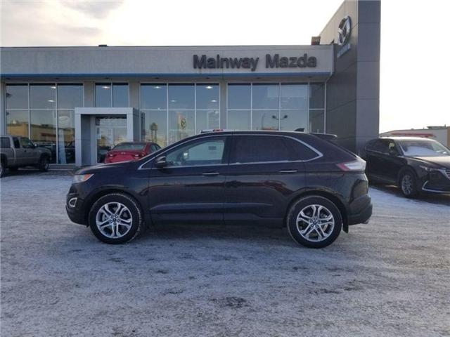 2017 Ford Edge Titanium (Stk: P1518) in Saskatoon - Image 1 of 23