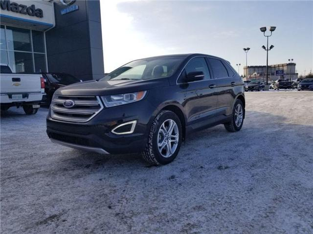 2017 Ford Edge Titanium (Stk: P1518) in Saskatoon - Image 9 of 23