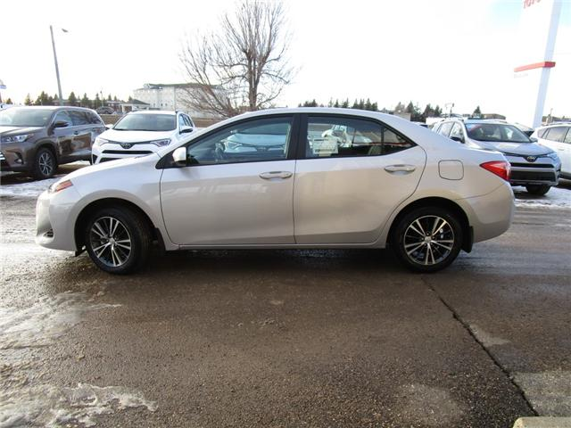 2019 Toyota Corolla LE Upgrade Package (Stk: 198017) in Moose Jaw - Image 2 of 27