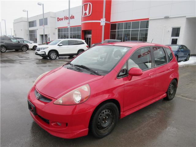 2008 Honda Fit Sport (Stk: 26490A) in Ottawa - Image 2 of 10