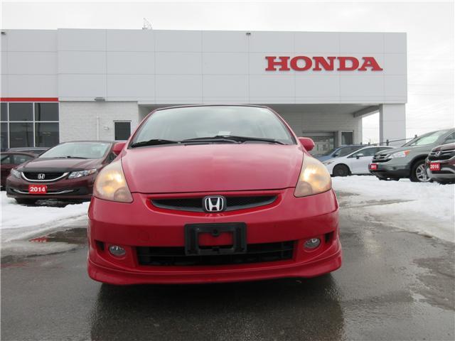 2008 Honda Fit Sport (Stk: 26490A) in Ottawa - Image 1 of 10