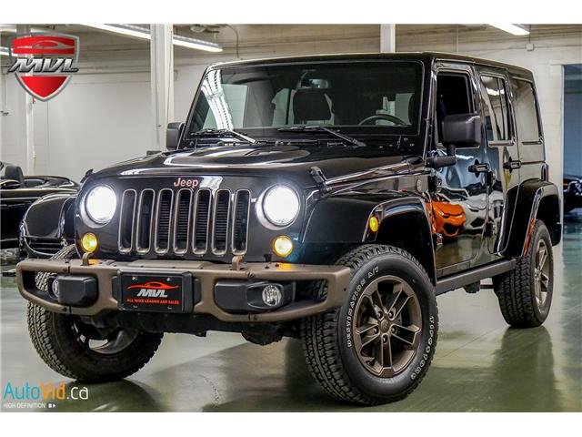 2017 Jeep Wrangler Unlimited Sahara (Stk: ) in Oakville - Image 1 of 38