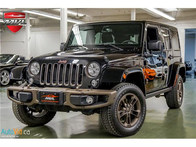 2017 Jeep Wrangler Unlimited Sahara (Stk: ) in Oakville - Image 2 of 38