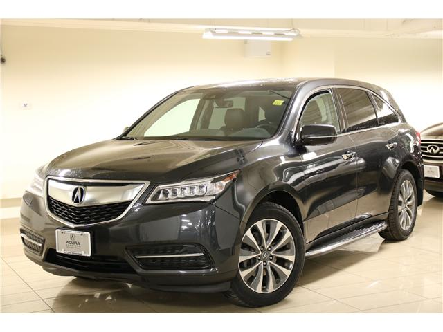 2016 Acura MDX Navigation Package (Stk: M12283A) in Toronto - Image 1 of 31